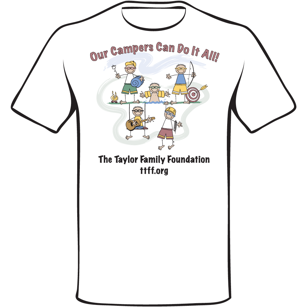 Our Campers do it all T-shirt