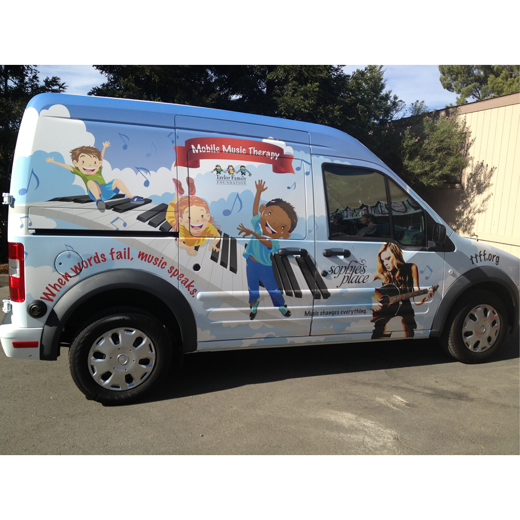 TTFF Music Therapy Mobile Van