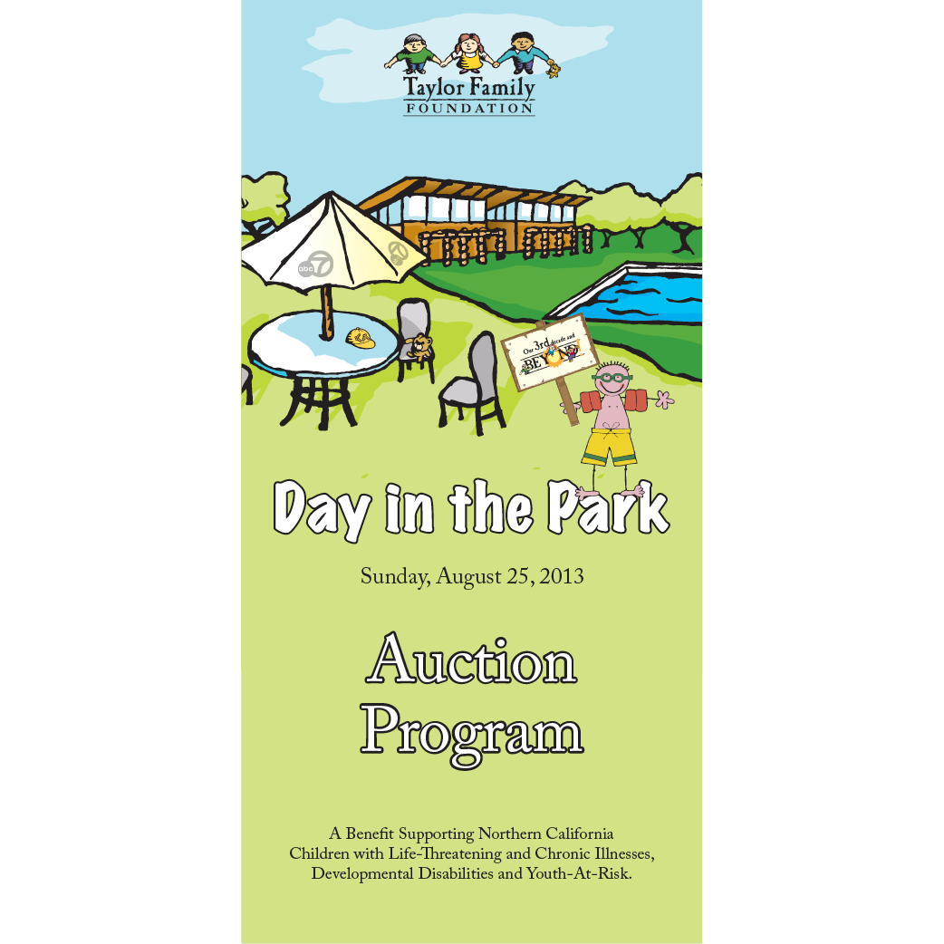 Day in the Park Auction Catalog